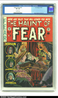 Golden Age (1938-1955):Horror, The Haunt of Fear #15 (EC, 1952) CGC VF+ 8.5 Off-white pages.Graham Ingels' cover art is unmistakable on this issue, which ...