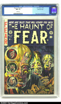 Golden Age (1938-1955):Horror, The Haunt of Fear #17 Gaines File pedigree 3/12 (EC, 1953) CGC NM-9.2 White pages. Ghastly Graham Ingels does an incredible...
