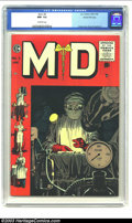Golden Age (1938-1955):Miscellaneous, M.D. #5 Gaines File pedigree 5/12 (EC, 1955) CGC NM- 9.2 Off-white pages. The combination of Johnny Craig on the cover, with...