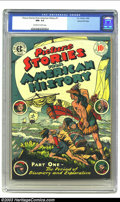 Golden Age (1938-1955):Non-Fiction, Picture Stories From American History #1 Gaines File pedigree 3/11(EC, 1946) CGC NM- 9.2 Off-white to white pages. This fir...