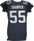 Football Collectibles:Uniforms, 2005 Jamie Sharper Game Worn Jersey. Jamie Sharper was a long-time linebacker in the National Football League, concluding h...