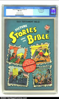 Golden Age (1938-1955):Religious, Picture Stories from the Bible Old Testament #2 Gaines File pedigree (EC, 1942) CGC NM 9.4 Off-white to white pages. If EC h...