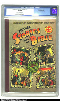Picture Stories from the Bible Complete Life of Christ Edition - Gaines File pedigree 4/12 (EC, 1945) CGC NM 9.4 Cream t...