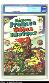 Picture Stories from World History #2 Gaines File pedigree 2/11 (EC, 1947) CGC NM+ 9.6 Off-white pages. The second of ju...