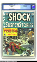Golden Age (1938-1955):Horror, Shock SuspenStories #3 Gaines File pedigree 3/12 (EC, 1952) CGC NM+9.6 Off-white pages. Forgetting his gloves on a freezing...