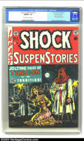Golden Age (1938-1955):Horror, Shock SuspenStories #6 Gaines File pedigree 4/12 (EC, 1952) CGCNM/MT 9.8 Off-white to white pages. This title is rife with ...