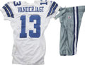 Football Collectibles:Uniforms, 2006 Mike Vanderjagt Game Worn Jersey with Pants. An excellent NFL field goal kicker, Mike Vanderjagt enjoys his place among...