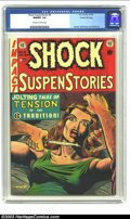 Golden Age (1938-1955):Horror, Shock SuspenStories #8 Gaines File pedigree 3/12 (EC, 1953) CGCNM/MT 9.8 Off-white to white pages. Unlike most every other ...