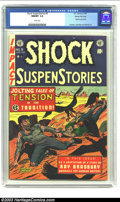 Golden Age (1938-1955):Horror, Shock SuspenStories #9 Gaines File pedigree 3/11 (EC, 1953) CGCNM/MT 9.8 White pages. Al Feldstein seemed to have way too m...