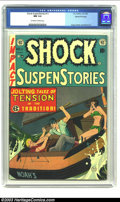 Golden Age (1938-1955):Horror, Shock SuspenStories #11 Gaines File pedigree 3/11 (EC, 1953) CGC NM9.4 Off-white to white pages. Johnny Craig does his only...