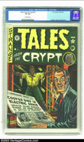 Golden Age (1938-1955):Horror, Tales From the Crypt #21 (EC, 1951) CGC VF 8.0 Off-white pages. Ifyou've been waiting for high-grade, non-pedigree copies o...