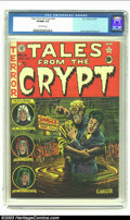 Golden Age (1938-1955):Horror, Tales From the Crypt #24 (EC, 1951) CGC VF/NM 9.0 Off-white pages.Perhaps more than any other pre-code horror titles, ECs w...