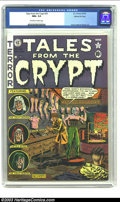 Golden Age (1938-1955):Horror, Tales From the Crypt #25 Gaines File pedigree 3/12 (EC, 1951) CGCNM+ 9.6 Off-white to white pages. Al Feldstein was only tw...