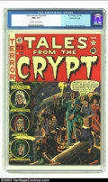 Golden Age (1938-1955):Horror, Tales From the Crypt #26 Gaines File pedigree 2/12 (EC, 1951) CGCNM+ 9.6 Off-white to white pages. Wally Wood's second cove...