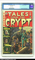 Golden Age (1938-1955):Horror, Tales From the Crypt #26 (EC, 1951) CGC VF+ 8.5 Off-white to whitepages. Wally Wood's second-ever EC cover is the highlight...