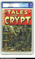Golden Age (1938-1955):Horror, Tales From the Crypt #30 Gaines File pedigree 3/12 (EC, 1952) CGCNM 9.4 Cream to off-white pages. Jack Davis was one of the...
