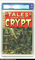 Golden Age (1938-1955):Horror, Tales From the Crypt #30 (EC, 1952) CGC VF+ 8.5 Off-white pages.For cover theme inventiveness, Jack Davis took a back seat ...