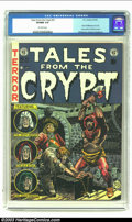 Golden Age (1938-1955):Horror, Tales From the Crypt #31 (EC, 1952) CGC VF/NM 9.0 Off-white pages.This issue is notable for Al Williamson's first work at E...