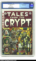 Golden Age (1938-1955):Horror, Tales From the Crypt #33 Gaines File pedigree 2/12 (EC, 1952) CGC NM+ 9.6 Cream to off-white pages. When Al Feldstein turned...