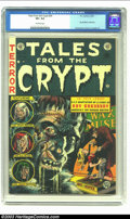 Golden Age (1938-1955):Horror, Tales From the Crypt #34 (EC, 1953) CGC VF+ 8.5 Off-white pages.This issue spotlights an adaptation of a Ray Bradbury story...