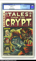 Golden Age (1938-1955):Horror, Tales From the Crypt #35 Gaines File pedigree 3/11 (EC, 1953) CGCNM+ 9.6 Off-white to white pages. Either Jack Davis has re...