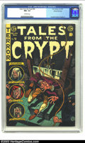 Golden Age (1938-1955):Horror, Tales From the Crypt #44 Gaines File pedigree 3/12 (EC, 1954) CGCNM+ 9.6 Off-white pages. Technically, we suppose it's not ...