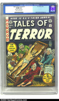 Golden Age (1938-1955):Horror, Tales of Terror Annual #3 (EC, 1953) CGC VF/NM 9.0 Cream tooff-white pages. Al Feldstein's rendition of one of medieval Eur...