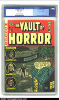 Golden Age (1938-1955):Horror, Vault of Horror #21 Gaines File pedigree 3/12 (EC, 1951) CGC NM+9.6 Off-white to white pages. Johnny Craig was given plenty...