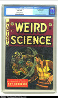Golden Age (1938-1955):Science Fiction, Weird Science #19 Gaines File pedigree 2/10 (EC, 1953) CGC NM+ 9.6Off-white to white pages. Wally Wood fans (and who isn't ...