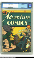Golden Age (1938-1955):Superhero, Adventure Comics #51 (DC, 1940) CGC NM- 9.2 White pages. What, no pedigree? White pages and the second-highest grade for the...