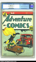 Golden Age (1938-1955):Superhero, Adventure Comics #58 (DC, 1941) CGC NM- 9.2 Off-white to white pages. Hourman saves the crippled child from becoming concret...