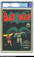 "Golden Age (1938-1955):Superhero, Batman #3 (DC, 1940) CGC GD/VG 3.0 Off-white pages. Now you may think, ""Batman #3? I could never afford that! Especially..."