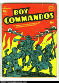 Golden Age (1938-1955):War, Boy Commandos #1 (DC, 1942) Condition: GD+. No Jack Kirbycollection should be without a copy of this famous first issue.Th...