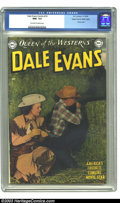 Golden Age (1938-1955):Western, Dale Evans Comics #14 Mile High pedigree (DC, 1950) CGC NM+ 9.6Off-white to white pages. Beautiful, eye-catching, and irres...