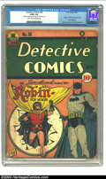 Golden Age (1938-1955):Superhero, Detective Comics #38 (DC, 1940) CGC GD/VG 3.0 Light tan to off-white pages. One of the early Golden Age classics from DC is ...