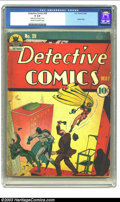 Golden Age (1938-1955):Superhero, Detective Comics #39 (DC, 1940) CGC GD 2.0 Cream to off-white pages. Batman's protege Robin makes his second appearance in t...