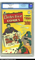 Golden Age (1938-1955):Superhero, Detective Comics #118 Mile High pedigree (DC, 1946) CGC NM+ 9.6 White pages. The Joker cover by Win Mortimer is cool enough,...