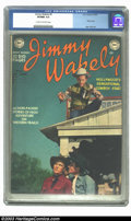 Golden Age (1938-1955):Western, Jimmy Wakely #5 (DC, 1950) CGC VF/NM 9.0 Cream to off-white pages. This and other period DC Westerns featured the publisher'...