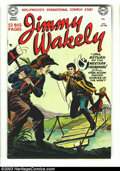 "Golden Age (1938-1955):Western, Jimmy Wakely #9 Mile High pedigree (DC, 1951) Condition: NM- 9.2White pages. This issue of ""Hollywood's Sensational Cowboy ..."