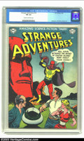 Golden Age (1938-1955):Science Fiction, Strange Adventures #16 (DC, 1952) CGC FN 6.0 Cream to off-whitepages. It's not the brightness or richness of the cover colo...