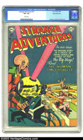 Golden Age (1938-1955):Science Fiction, Strange Adventures #31 White Mountain pedigree (DC, 1953) CGC VF+8.5 White pages. Finding pre-code DC science fiction isn't...