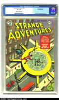 Golden Age (1938-1955):Science Fiction, Strange Adventures #36 White Mountain pedigree (DC, 1953) CGC VF+8.5 Off-white to white pages. This early issue of DC's sci...
