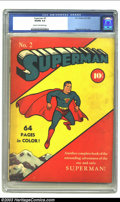 Golden Age (1938-1955):Superhero, Superman #2 (DC, 1939) CGC VG/FN 5.0 Cream to off-white pages. As distinctive as any title during the dawning days of the Go...
