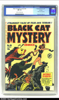 Golden Age (1938-1955):Horror, Black Cat Mystery #30 File Copy (Harvey, 1951) CGC NM 9.4 Cream tooff-white pages. The number of Harvey File copies we're o...