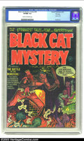 Golden Age (1938-1955):Horror, Black Cat Mystery #36 File Copy (Harvey, 1952) CGC VF/NM 9.0 Creamto off-white pages. Some of the most blood-curdling tales...