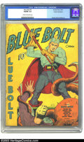 Golden Age (1938-1955):Superhero, Blue Bolt #5 Cosmic Aeroplane pedigree (Novelty Press, 1940) CGC VG/FN 5.0 Cream to off-white pages. Either this cover featu...