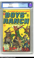 Golden Age (1938-1955):Western, Boys' Ranch #3 File Copy (Harvey, 1951) CGC NM- 9.2 Cream tooff-white pages. The third issue of the six-issue run has a col...