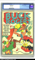 Golden Age (1938-1955):Science Fiction, Buck Rogers #3 (Eastern Color, 1941) CGC FN+ 6.5 Cream to off-whitepages. Buck Rogers was already a well-known and popular ...