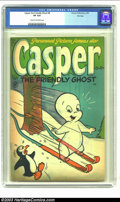 Golden Age (1938-1955):Cartoon Character, Casper the Friendly Ghost #8 File Copy (Harvey, 1953) CGC VF 8.0 Cream to off-white pages. This is the second issue in the H...