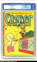Golden Age (1938-1955):Cartoon Character, Casper the Friendly Ghost #10 File Copy (Harvey, 1953) CGC VF/NM 9.0 Cream to off-white pages. Overstreet values for this mi...